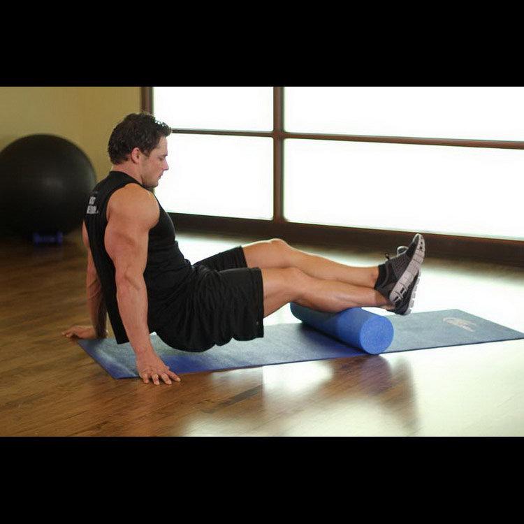 Упражнение с роликом для икроножной мышцы