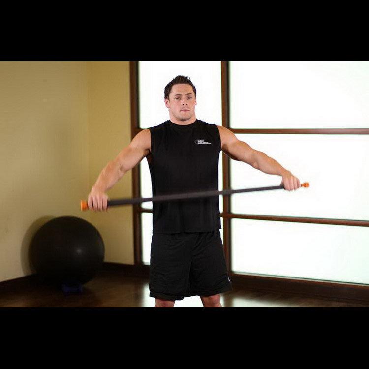 Растягивание мышц груди и передней части плечевого пояса