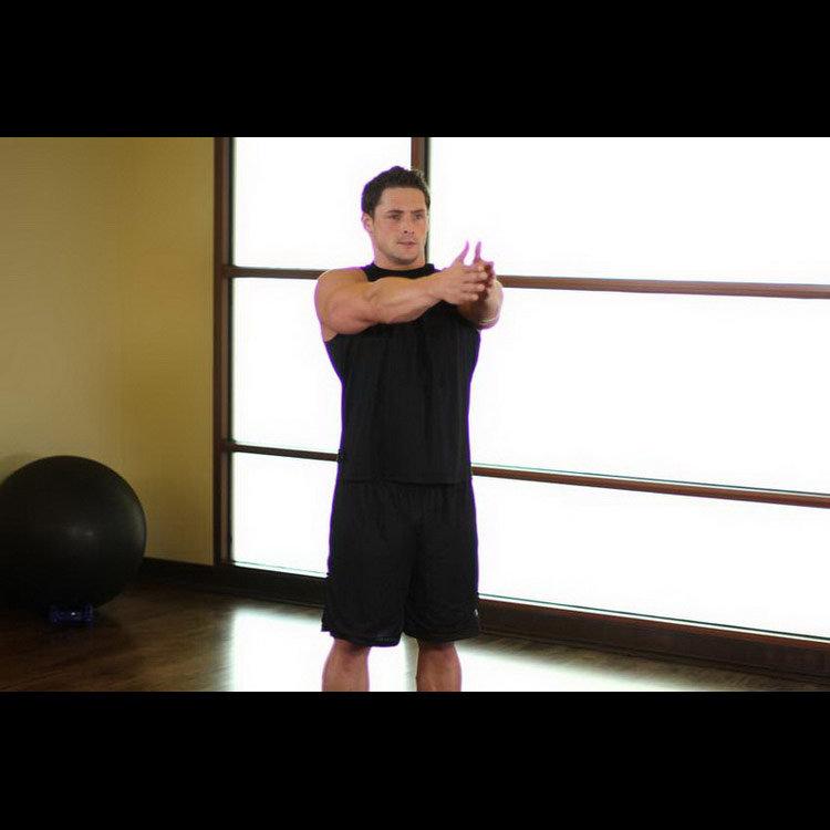 Энергичная растяжка грудных мышц