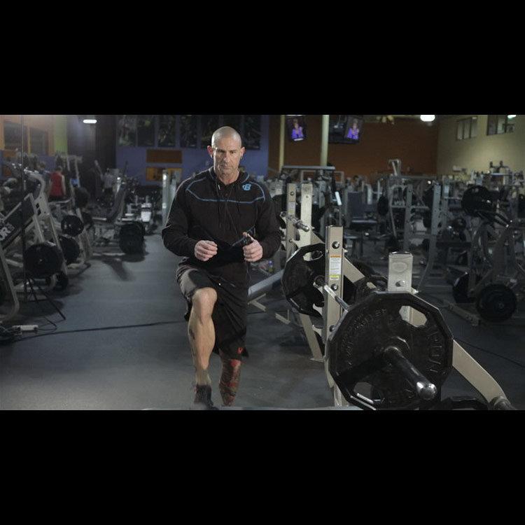 Подъём на возвышение с подъёмом колена