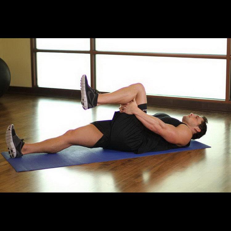 Подъём ноги для растяжки подколенного сухожилия